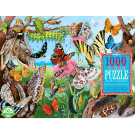 Jigsaw Puzzles 1000 Pieces - Butterflies and Moths