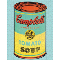Jigsaw Puzzle 500 Piece - Andy Warhol Soup Cans