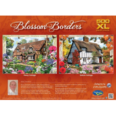Jigsaw Puzzle 500 XL Piece - Sedum Cottage