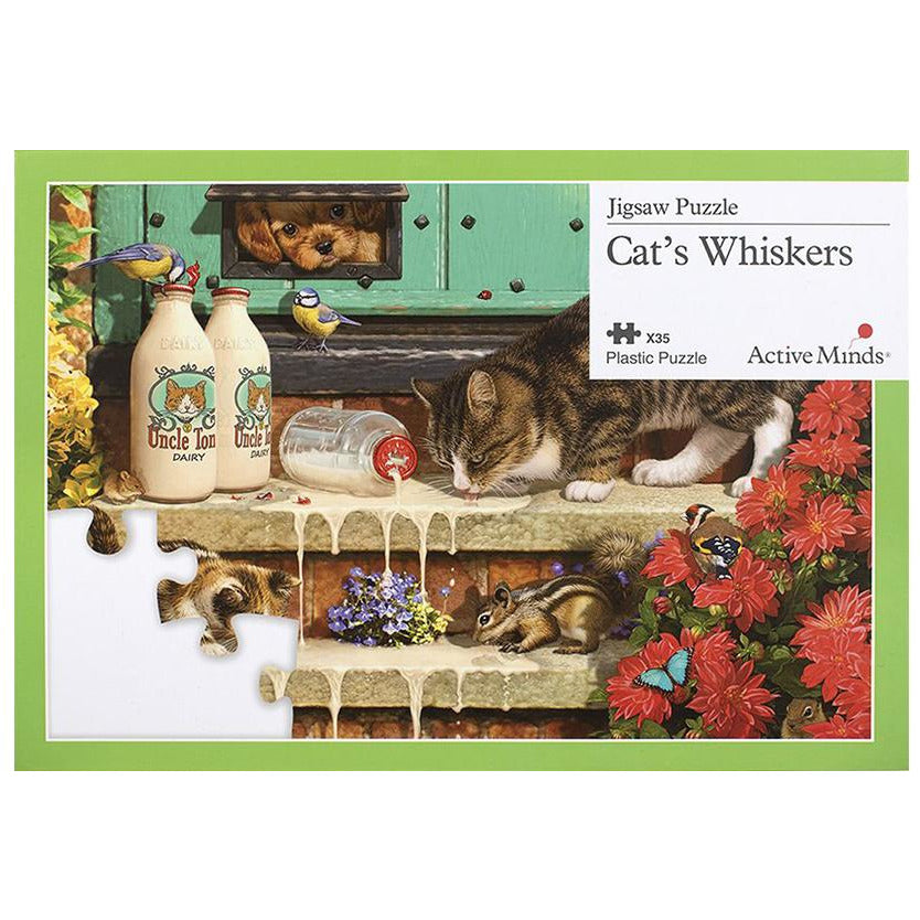 Jigsaw Puzzle 35 Piece - Cat Whiskers
