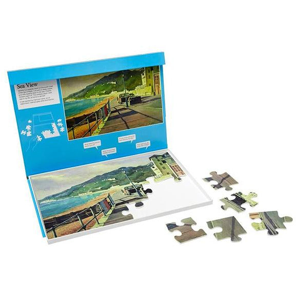 Jigsaw Puzzle 24 Piece - Sea View