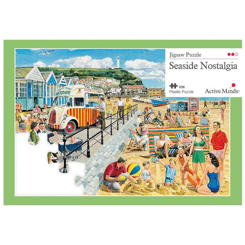 Jigsaw Puzzle 35 Piece - Seaside Nostalgia