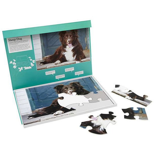 Jigsaw Puzzle 13 Piece - Sheep Dog