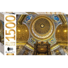 Jigsaw Puzzle 1500 Piece - Gold St Peters Basilica