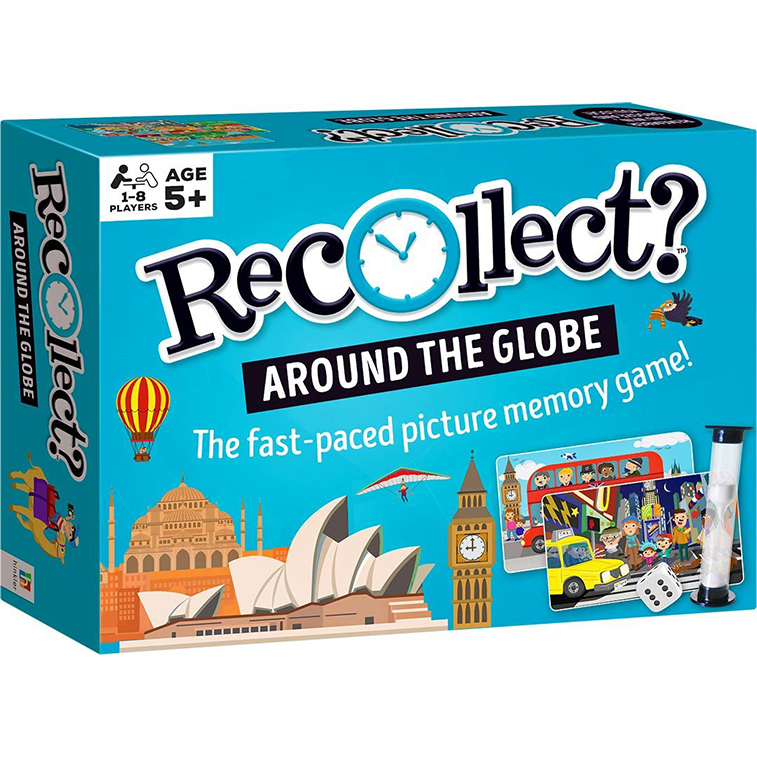 Memory Game - Recollect Around the Globe