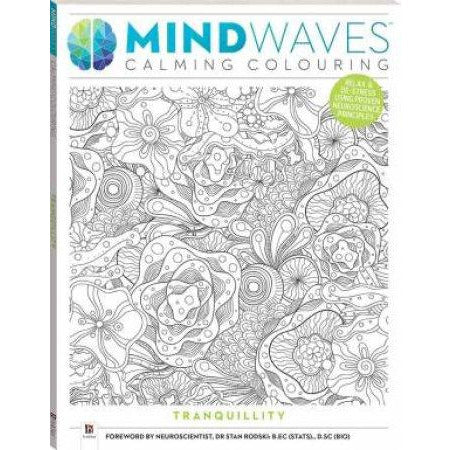 Calming Colouring Books  - Tranquility