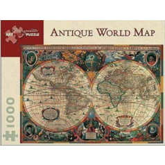 Jigsaw Puzzle 1000 Piece- Antique World Map