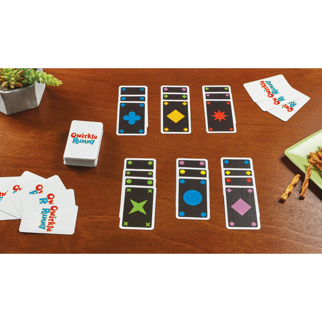 Qwirkle Rummy Card Game - Memory