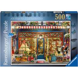 Jigsaw Puzzle 500 Piece- Antiques & Curiosities