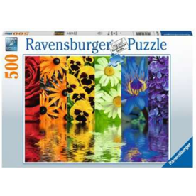 Jigsaw Puzzle 500 Piece- Floral Reflections