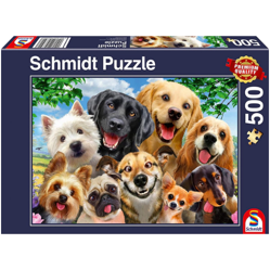 Jigsaw Puzzle 500 Piece - Dog Selfie