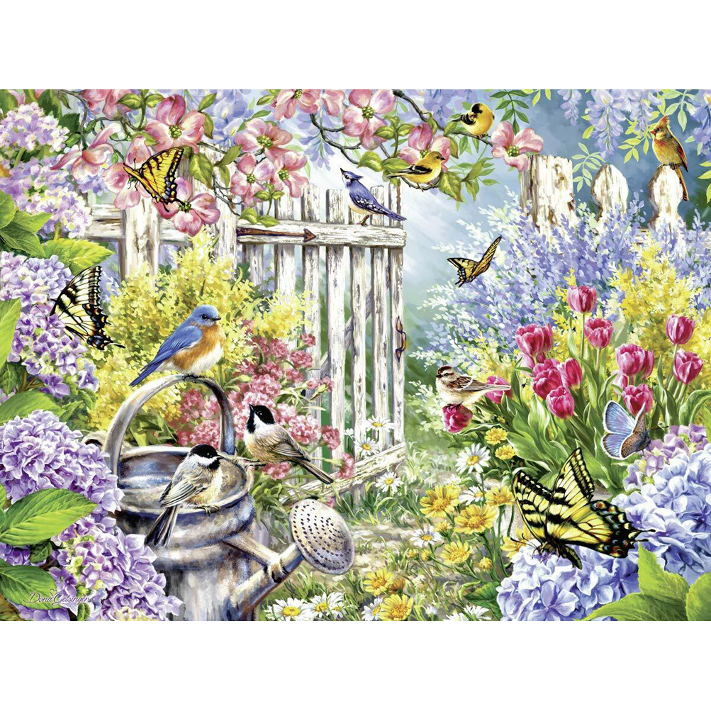 Jigsaw Puzzle 300 Piece - Spring Awakening (Large Piece)