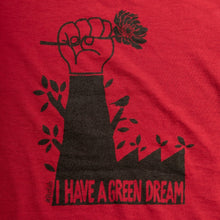 Charger l'image dans la galerie, T-shirt recyclé homme  « I have a green dream » - RefabMarket