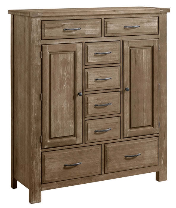 Maple Road Weathered Gray  SWEATER CHEST - 8 DRWR