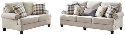 Meggett Benchcraft 2-Piece Living Room Set