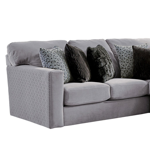 Jackson Furniture Carlsbad LSF Section in Charcoal 3301-62/1410-68/1411-68 image