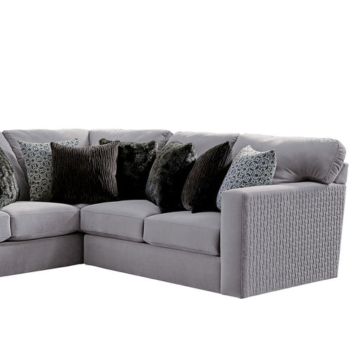 Jackson Furniture Carlsbad RSF Section in Charcoal 3301-72 image