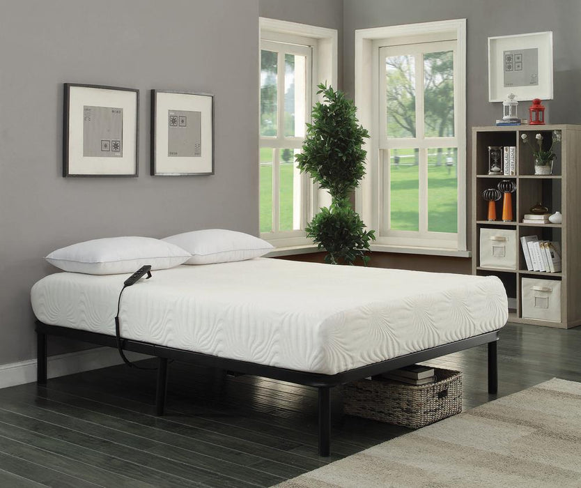 Stanhope Black Adjustable King Bed Base