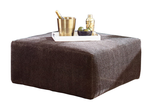 "Jackson Furniture Mammoth 40"" Cocktail Ottoman in Chocolate 437612 image"