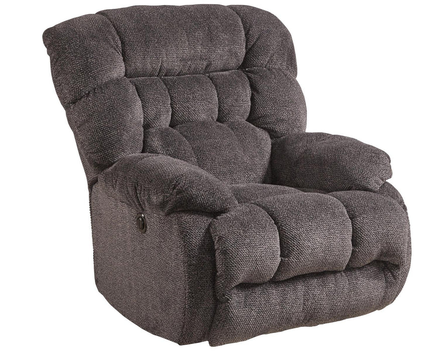 Catnapper Daly Chaise Rocker Recliner in Cobblestone image