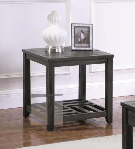 Rustic Grey Side Table image