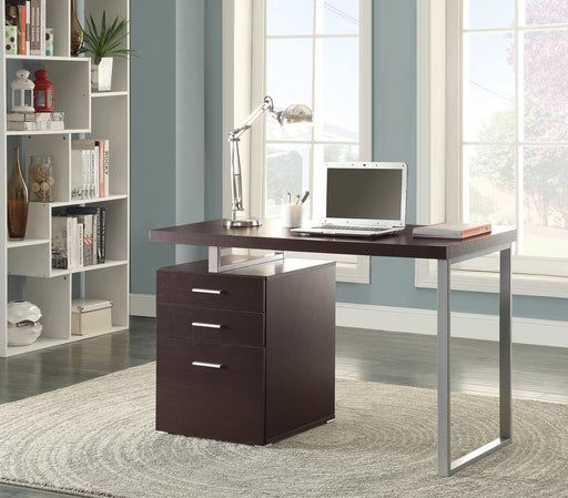 G800519 Contemporary Cappuccino Writing Desk image