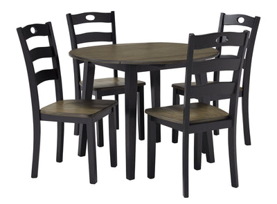 Froshburg Signature Design 5-Piece Dining Room Set
