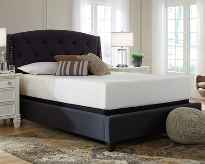 Chime 12 Inch Memory Foam Sierra Sleep by Ashley Memory Foam Mattress