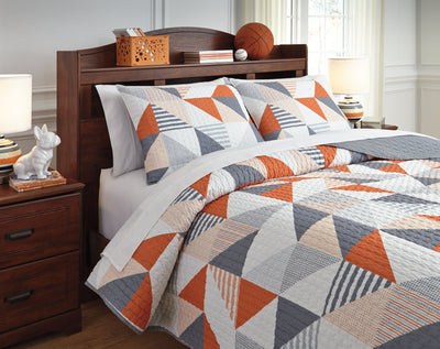 Layne Signature Design by Ashley Coverlet Set Full