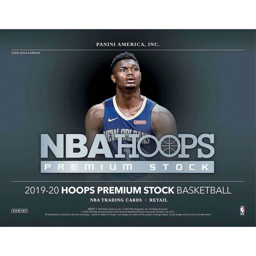 2019-20 HOOPS PREMIUM STOCK BASKETBALL BLASTER BOX - RED PRIZMS