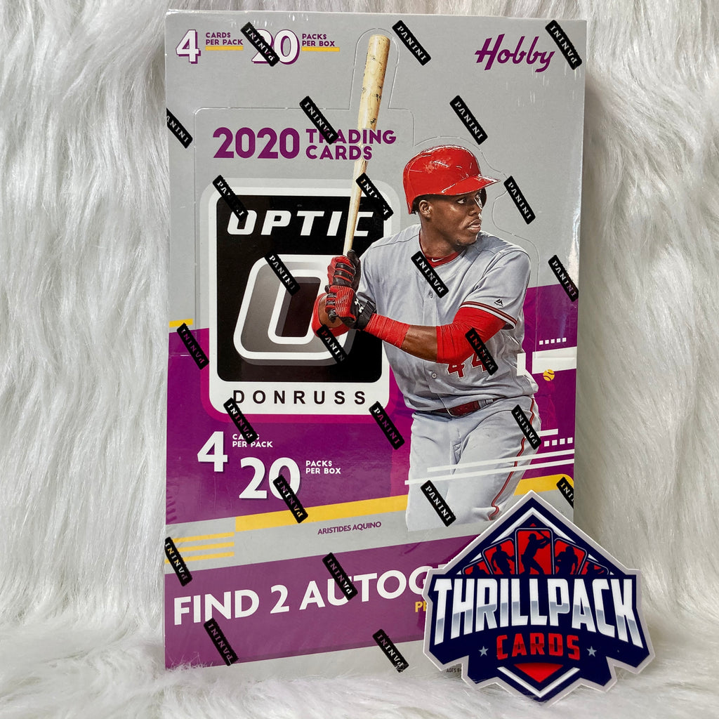 2020 DONRUSS OPTIC BASEBALL SINGLE HOBBY BOX W/ 2 AUTOS BREAK #25