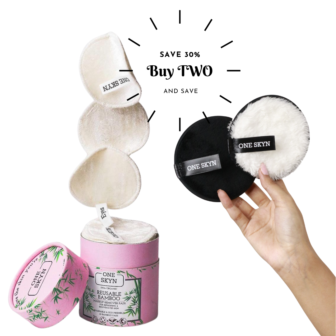 Bundle (30% Off) - Bamboo and Microfibre Pads