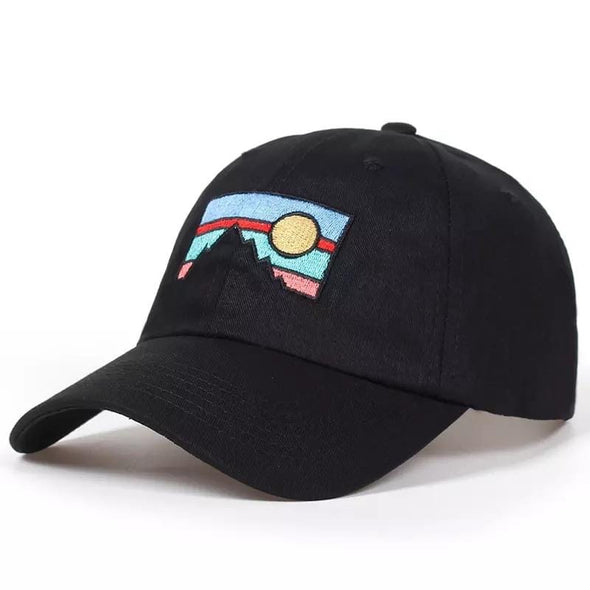 Sunset Mountain Cap