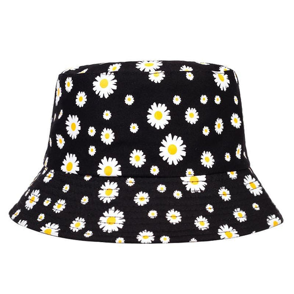 Yellow Daisy Bucket Hat