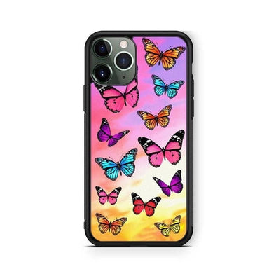 Rainbow Butterfly IPhone Case