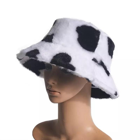Cow Fur Bucket Hat