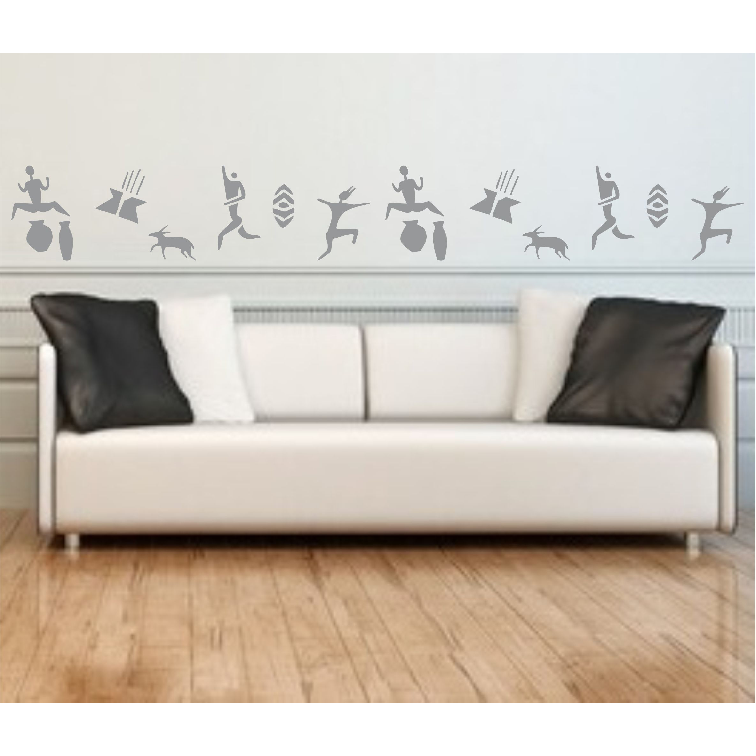 Cave Paintings Stencil