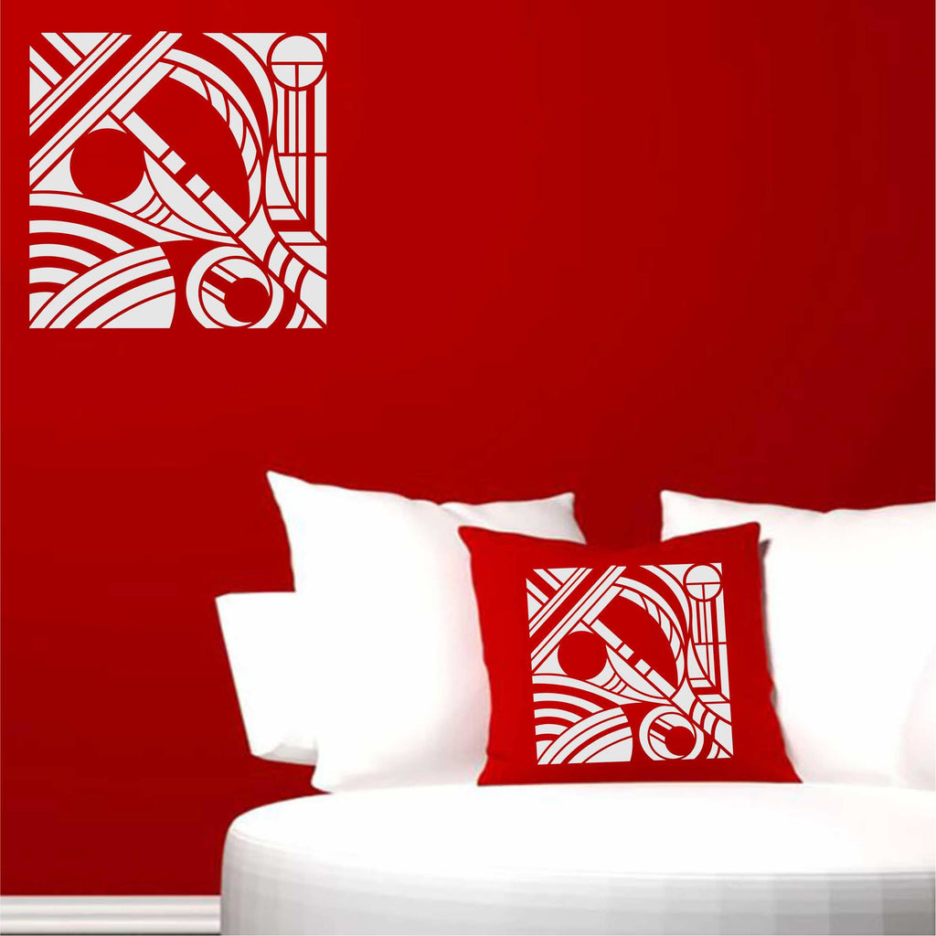 Abstract Art Stencil