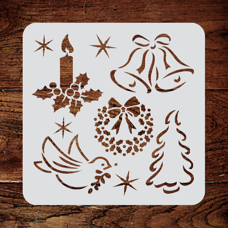 Christmas Decor Stencil