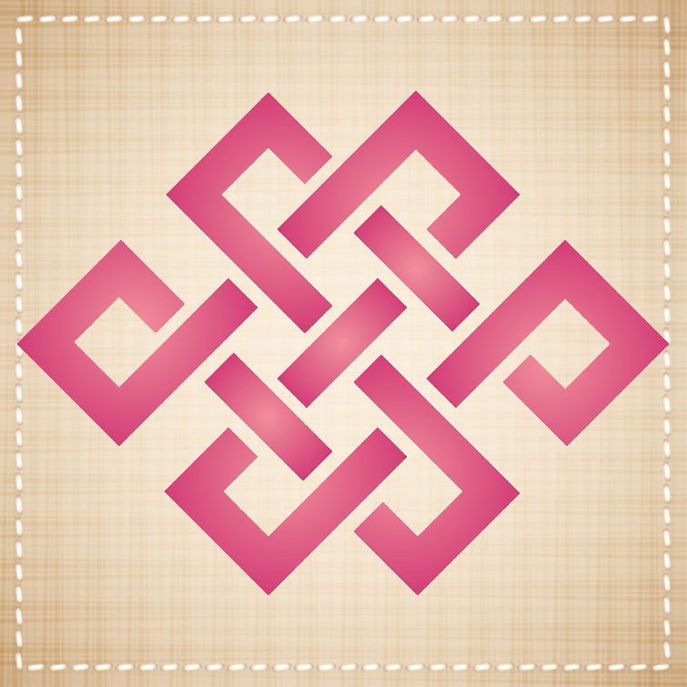 Endless Knot Stencil