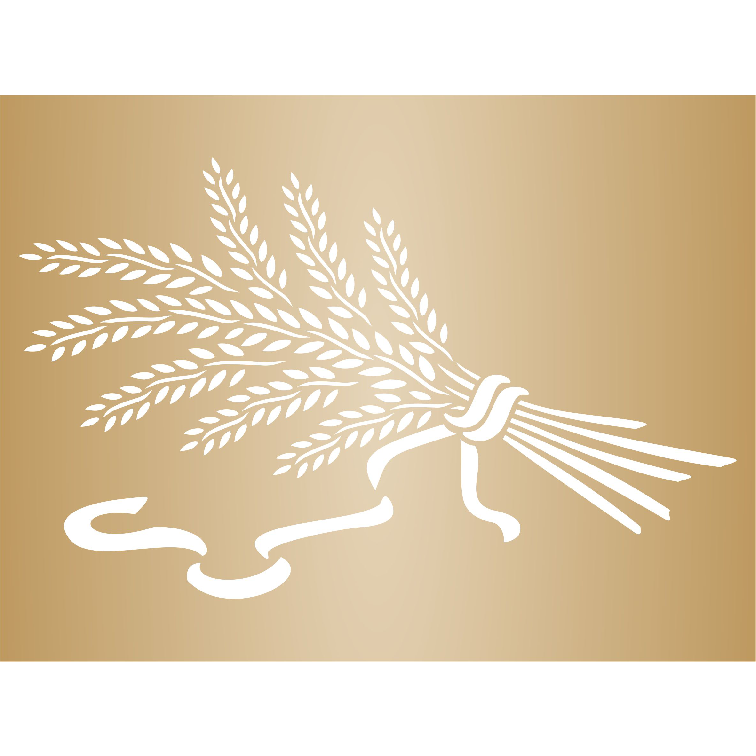 Wheat Sheaf Stencil