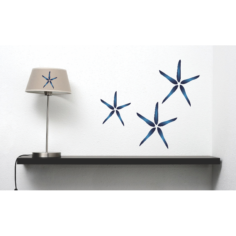 Blue Starfish Stencil