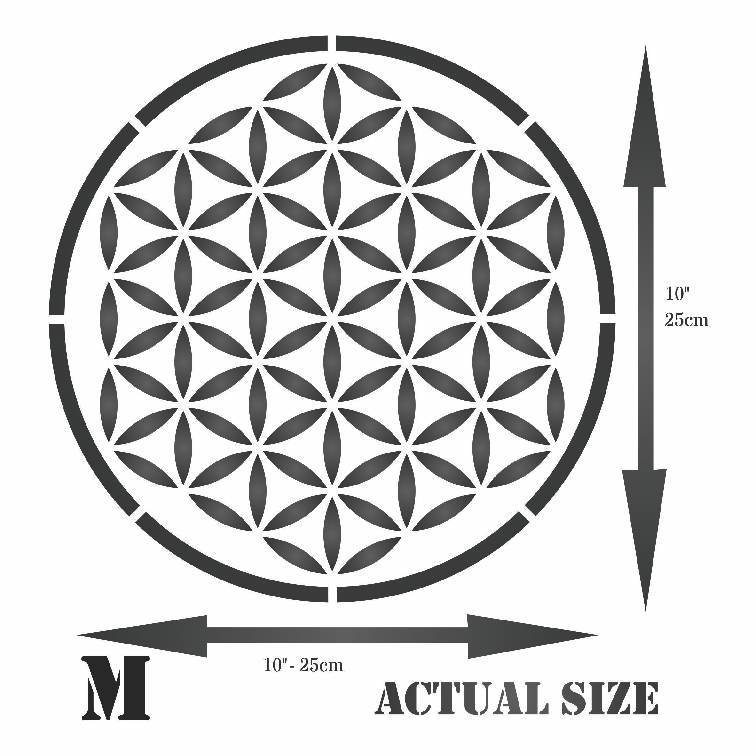 Flower Of Life Stencil