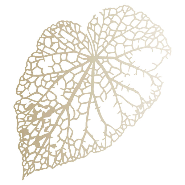 Leaf Skeleton Stencil