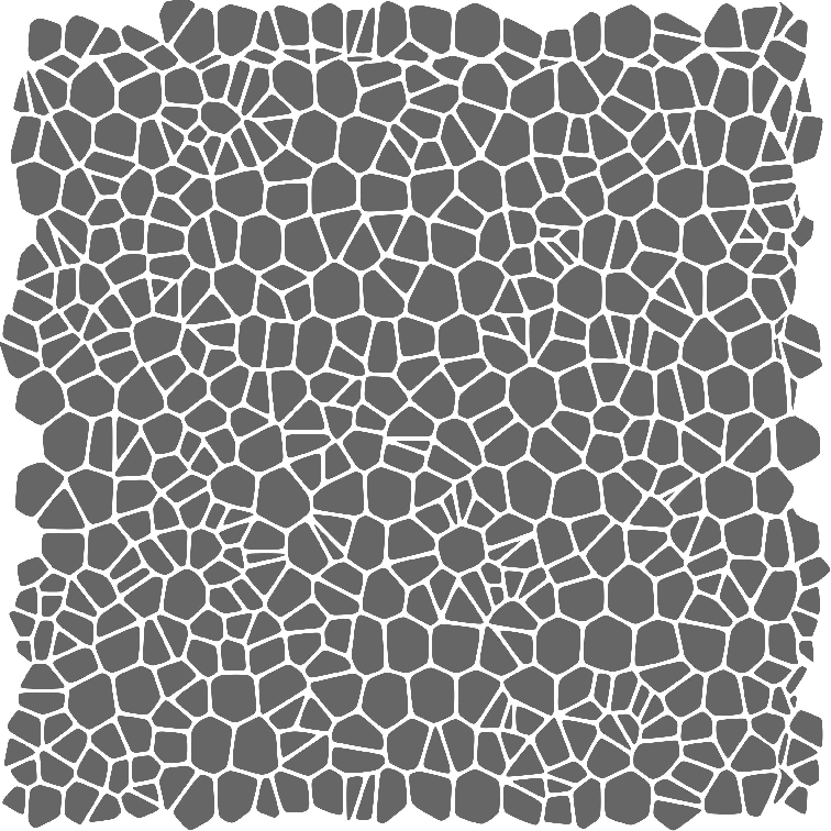 Crackle Pattern Stencil