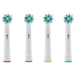 4pcs Replacement Toothbrush Heads for Oral Hygiene Cross Floss Precision Soft Bristle Duty Free Electric Tooth Brushes Heads