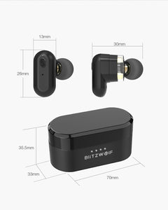 Blitzwolf BW-FYE7 TWS Bluetooth V5.0 In-ear Earphone Stereo [Dual Dynamic Driver]