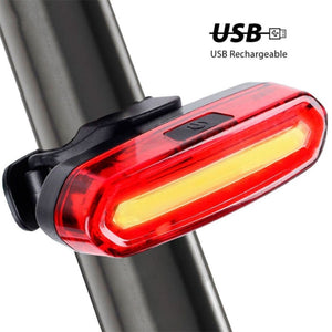 Bike Taillight / headlight Waterproof Led light (rear) | etrolleys.com