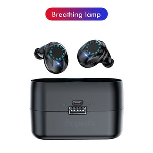 TWS Bluetooth Wireless Stereo Earbuds IPX7 Waterproof Touch Control