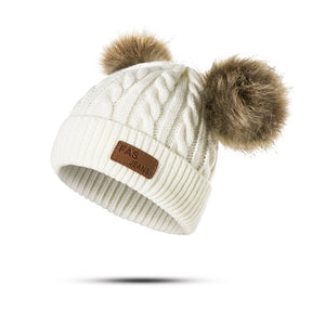 REAKIDS Beanies Baby Knitted Winter Hat